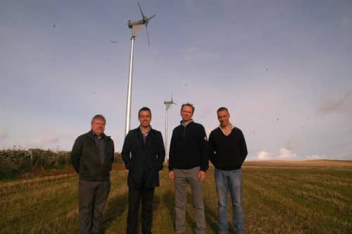 First Hamsin wind turbines go Live on Orkney as developers